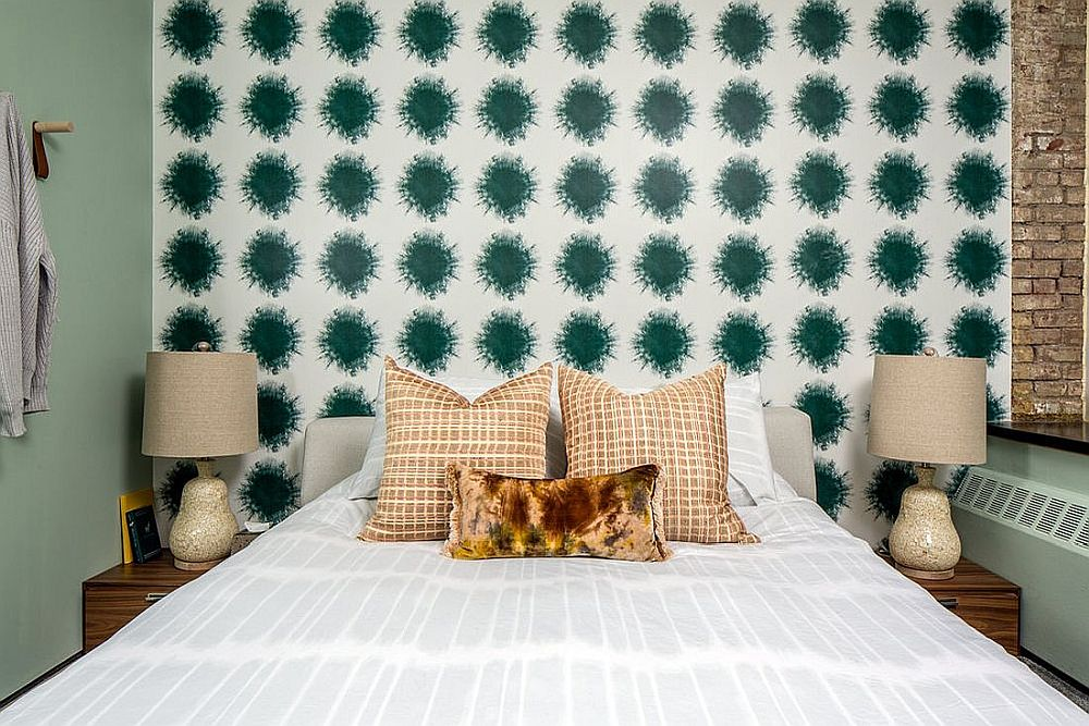Modern-eclectic-small-bedroom-of-NoHo-Apartment-in-New-York-City-with-a-fabulous-headboard-wall-76349