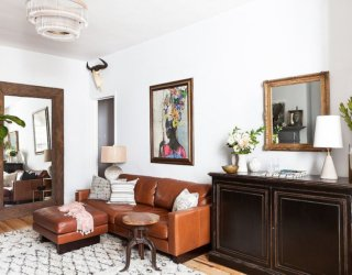 Vintage Finds Meet Modern Sheen Inside Small Chelsea Pied-à-Terre
