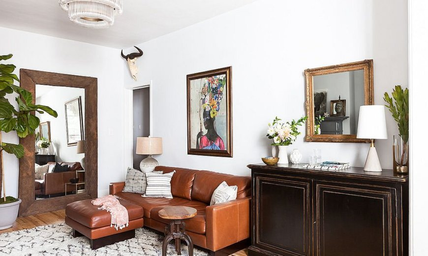 Vintage Finds Meet Modern Sheen Inside Small Chelsea Pied-à-Terre