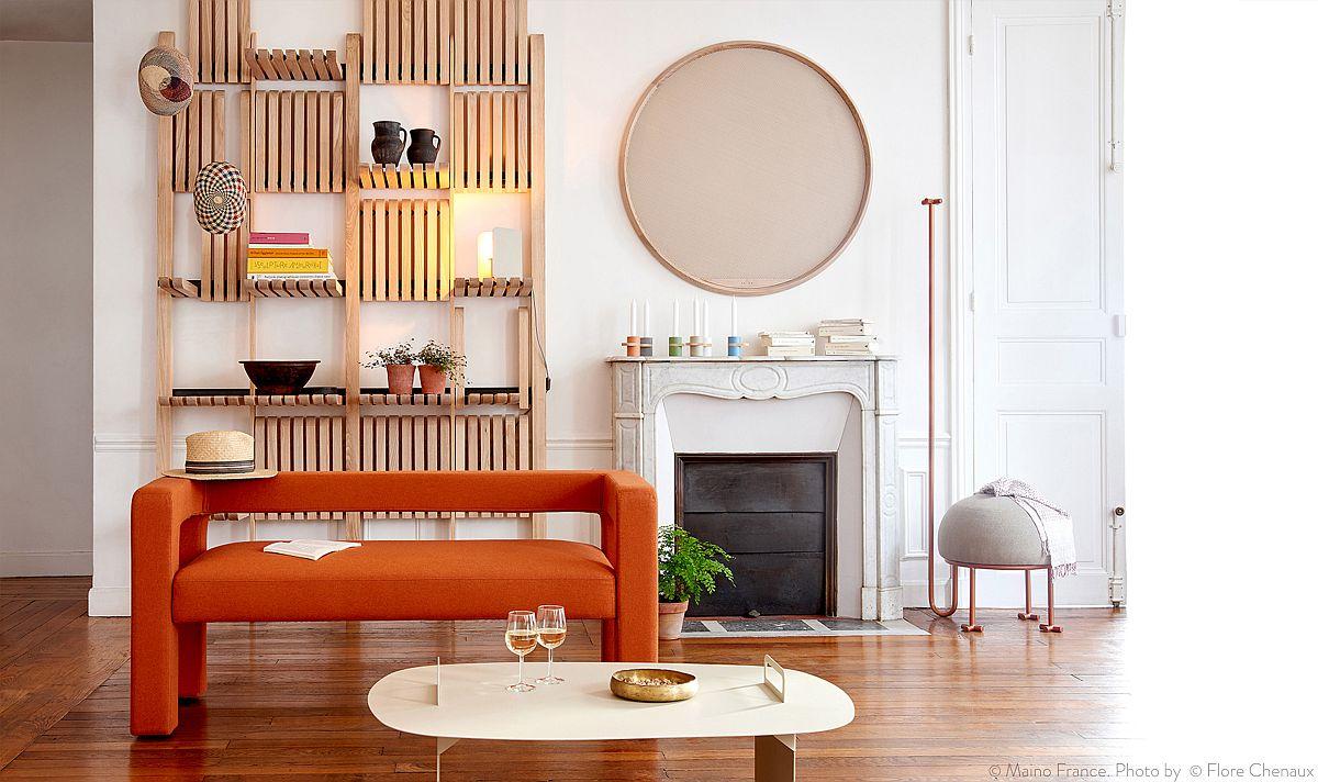 Modular shelves designed by Artem Zakharchenko-Halytskyi