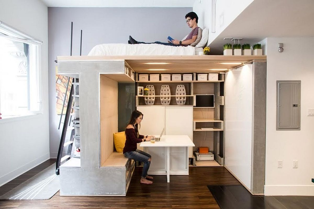 Move beyond the usual constraints to create your own workspace for two that works in your home