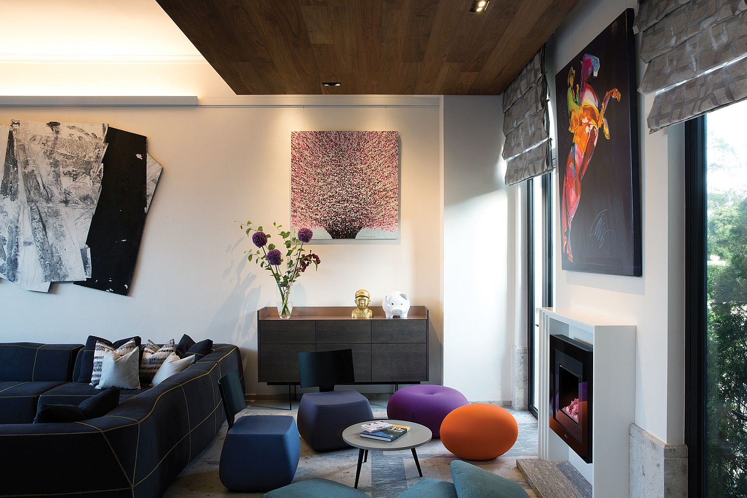 Multi-colored-playful-seats-add-to-the-whimsical-style-of-the-contemporary-home-80335
