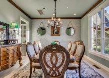 Opulent-and-exclusive-dining-room-with-classic-decor-in-wood-and-whitewashed-brick-wall-backdrop-39699-217x155