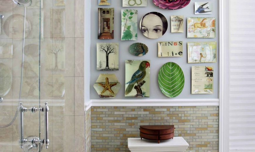 Decorating your Bathroom Walls: 15 Wall Art Ideas that Wow!