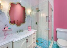 Reflection-of-the-accent-wall-in-the-bathroom-adds-to-the-pink-aura-inside-78453-217x155
