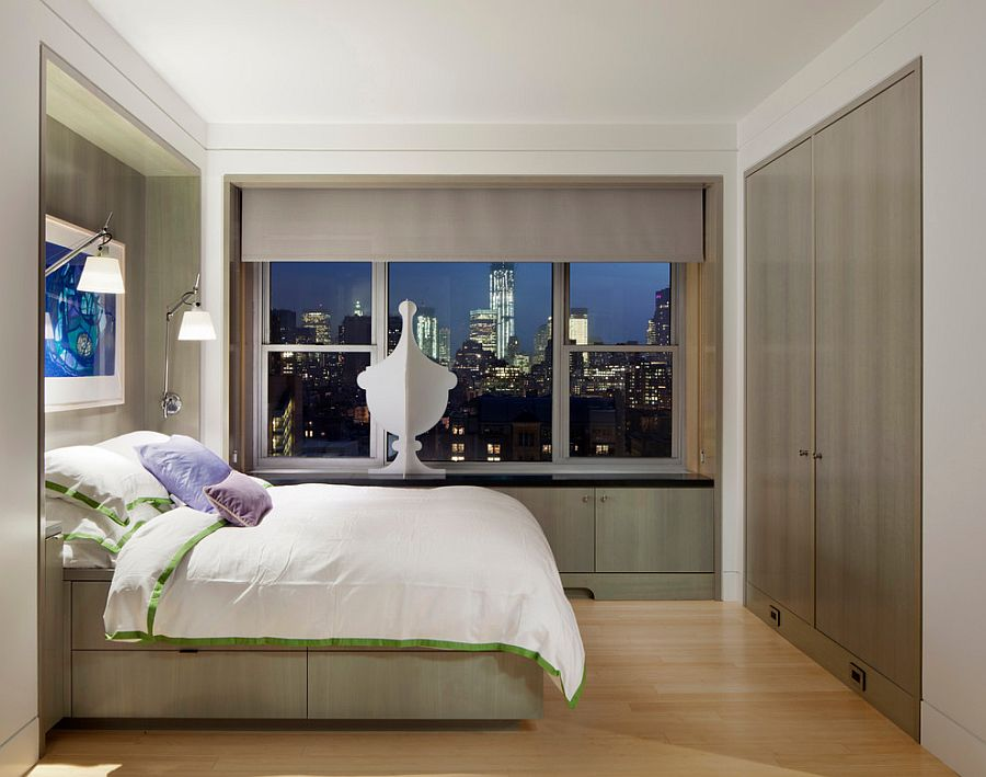 Small-bedroom-of-apartment-in-The-Village-with-views-of-New-York-Citys-sparkling-skyline-31425