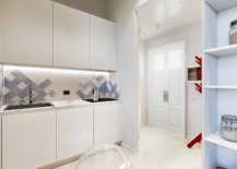 Small-monochromatic-kitchen-in-white-with-an-interesting-backsplash-that-has-blue-and-gray-67458-217x155