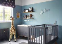 Smart-contemporary-nursery-in-white-and-light-blue-with-gray-crib-15493-217x155