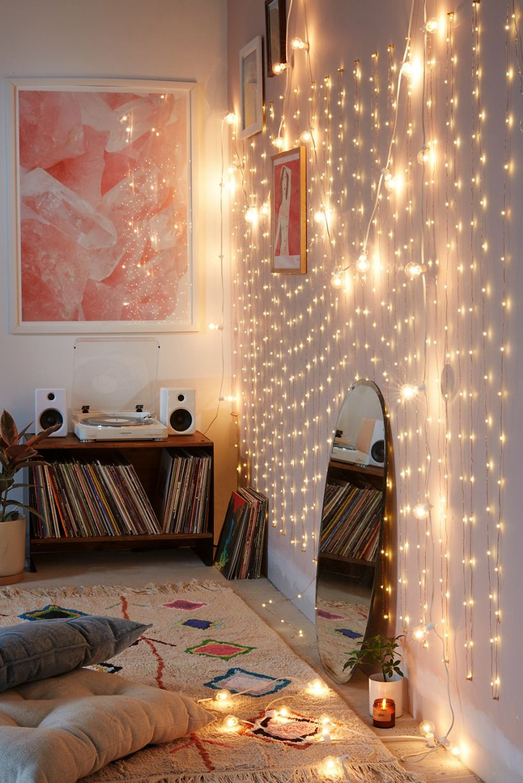 String lights add instant festivity