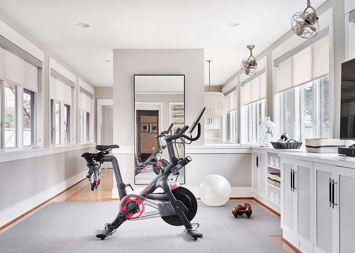 Turn an empty area in your home into a smart home workout zone with minimal fuss