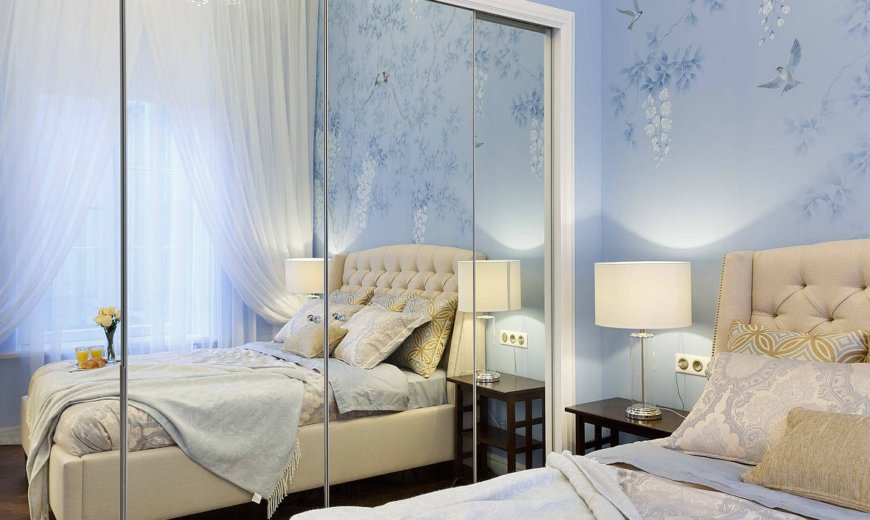 Bedrooms with Mirrored Doors: Bright, Light and Space-Savvy Solutions