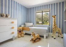 White-and-blue-striped-walls-enliven-contemporary-nursery-with-corner-bed-58223-217x155