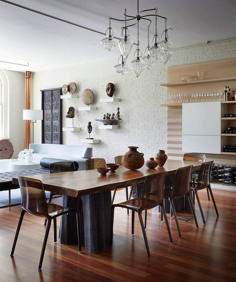 Whitewashed-brick-wall-backdrop-in-the-living-area-becomes-a-part-of-the-dining-space-52306