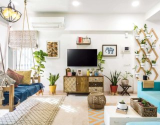 Best Eclectic Living Rooms in White: Weaving Together Contrasting Elements!