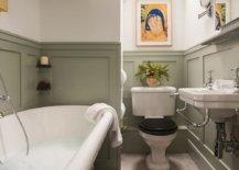 Bathroom-in-beige-an-dark-green-feels-both-stylish-and-elegant-53542-217x155