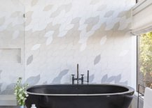 Bathtub-in-dark-gray-steals-the-show-in-this-fabulous-gray-and-white-bathroom-36489-217x155
