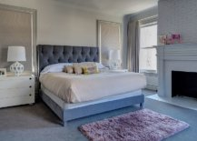 Bedroom-in-blue-gray-and-white-feels-both-modern-and-traditional-at-the-same-time-43301-217x155