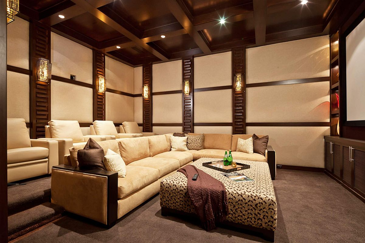 Beige decor can accentuate the presence of the color in the room