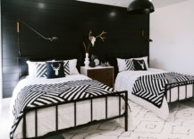 Black-and-white-modern-rustic-bedroom-with-mountain-style-inspired-motifs-feels-cheerful-and-classy-85072-217x155