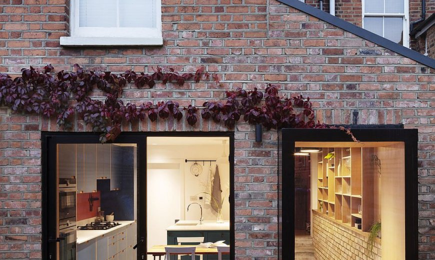 Victorian Terraced House Extension Improves Space and Storage Solutions