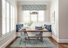 Chairs-in-bluish-gray-and-striped-pillows-bring-color-to-this-small-beach-style-dining-room-40076-217x155