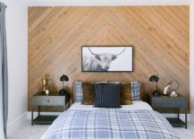 Chevron-pattern-accent-wall-for-the-rustic-bedroom-in-wood-along-with-bedding-that-adds-ample-pattern-to-the-bedroom-50287-217x155