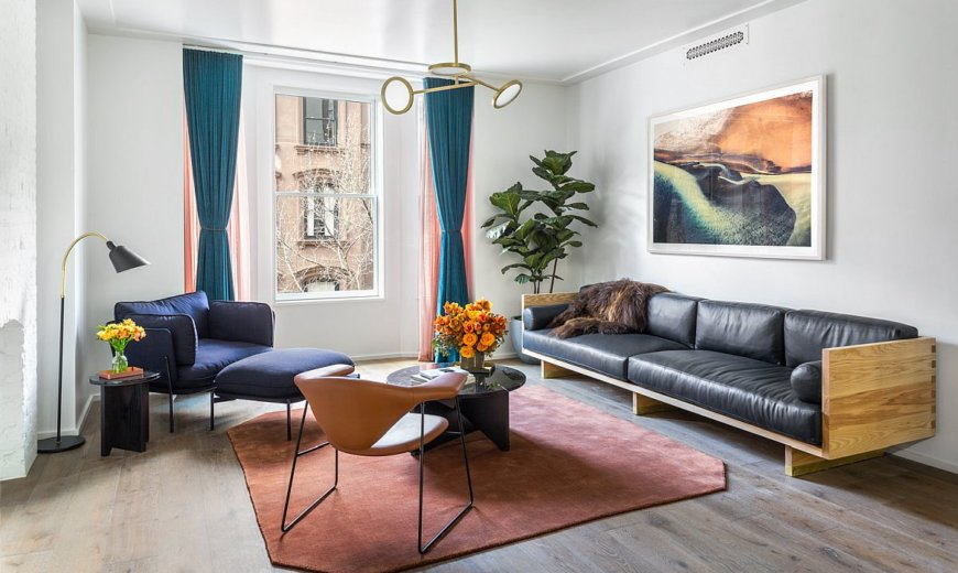 Step into the Apartment of Superman – Colorful Zest Meets NYC Panache