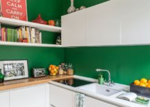 Dark-green-walls-for-the-small-Scandinavian-style-kitchen-with-white-cabinets-71174-217x155