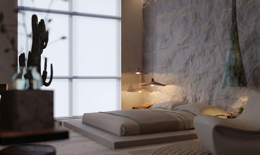 Wabi Sabi at its Refined Best: Small Modern Apartment in Kiev