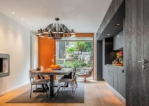 Gray-single-wall-kitchen-along-with-dining-area-on-the-lower-level-of-the-house-63092-217x155