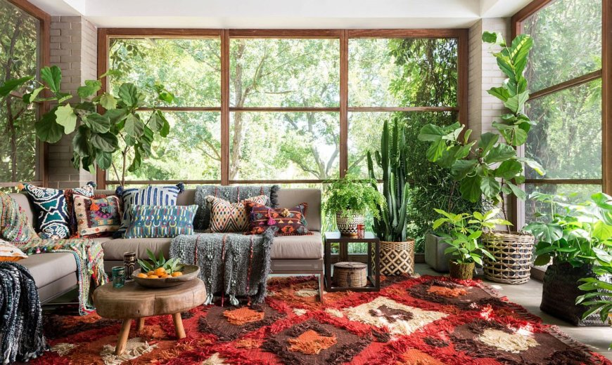 Eclectic Sunrooms Combine Color and Creativity with Protected Goodness