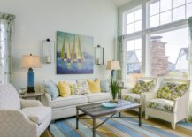 Light-mint-green-walls-for-the-modern-beach-style-living-room-with-ample-natural-light-63821-217x155