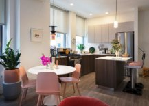 Light-pastel-pink-chairs-for-the-small-dining-area-in-the-NYC-apartment-76959-217x155