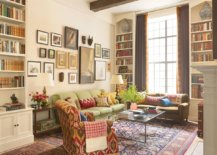 Living-room-of-New-York-home-with-modern-eclectic-style-and-ample-shelf-space-39790-217x155