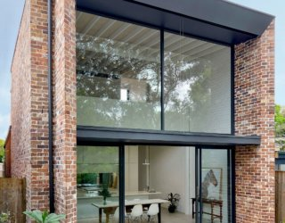 Beautiful Brick and Glass Extension Revamps This Suburban Sydney Home