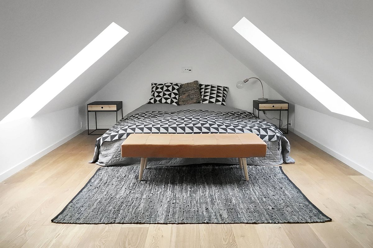 Modern-industrial-attic-bedroom-with-ample-natural-light-and-beautiful-wooden-floor-67181