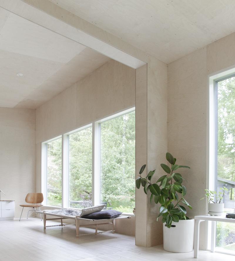 Modern minimalist cottage design