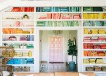 Rainbow-bookshelf-from-A-Beautiful-Mess-26680-217x155