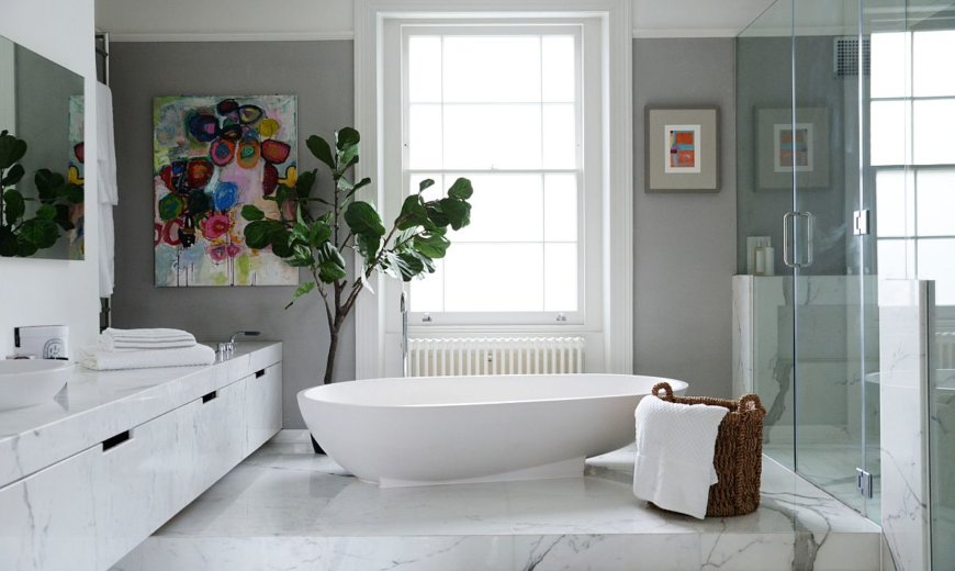 Best Colors for your White Bathroom: A Relaxing and Refined Experience