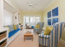 Remodeled-modern-beach-style-living-room-in-light-yellow-and-blue-is-a-showstopper-92152-217x155