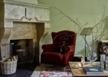 Textured-mint-green-walls-for-the-modern-Mediterranean-living-room-with-a-bright-red-chair-in-the-corner-69903-217x155
