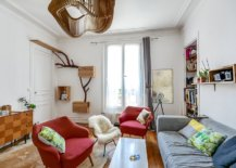 Tiny-eclectic-living-room-of-Paris-home-with-bright-furniture-and-a-dash-of-woodsy-charm-70543-217x155
