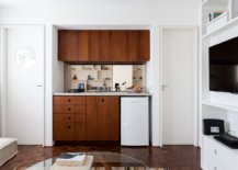 Tiny-kitchen-with-a-single-wall-design-ha-wooden-shelves-and-wooden-cabinets-52327-217x155