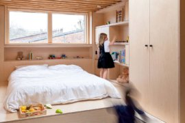 Split Levels and Loft Bedroom for Kids Add New Space to this London Home
