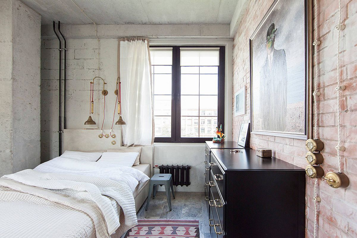 White-sheer-curtains-textured-walls-and-metallic-lighting-fixtures-combine-to-create-this-fabulous-bedroom-21840