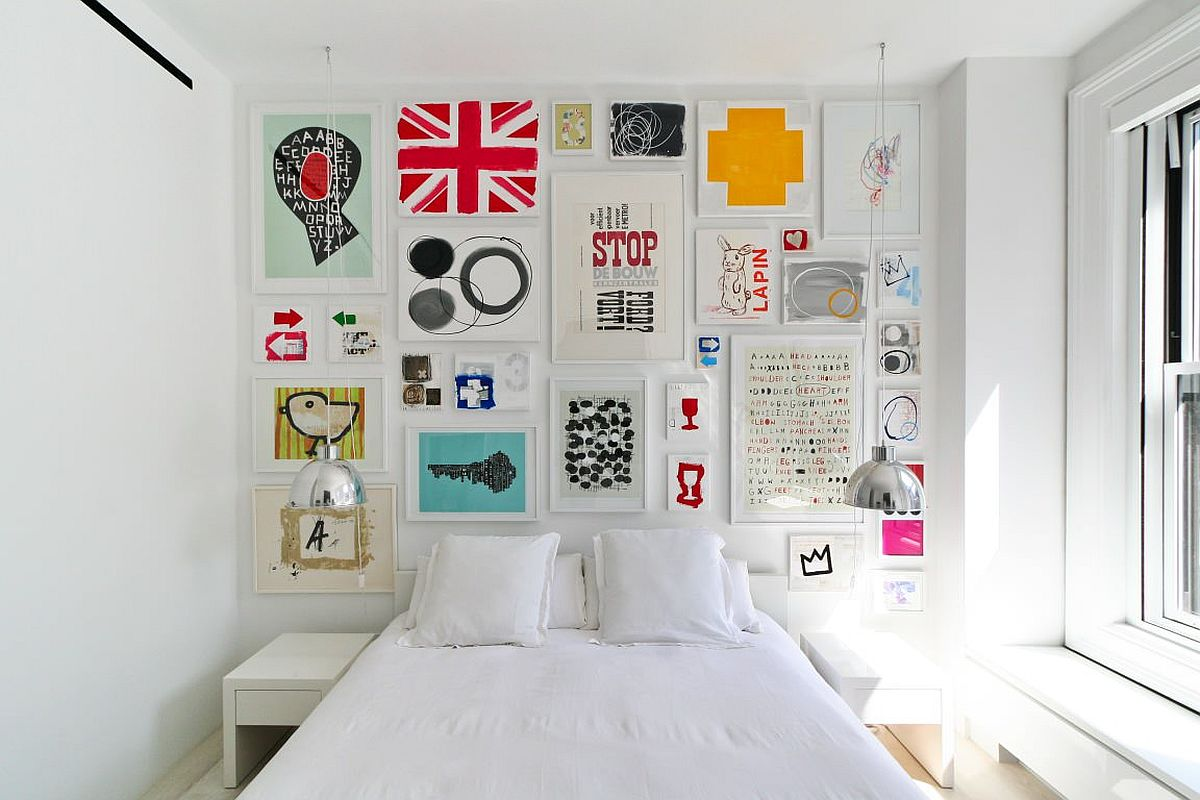Adding-color-to-the-tiny-white-bedroom-with-a-creative-gallery-wall-55739