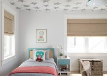Beautiful-wallpaper-with-starry-pattern-does-not-disturb-the-color-scheme-in-this-boys-bedroom-17831-217x155