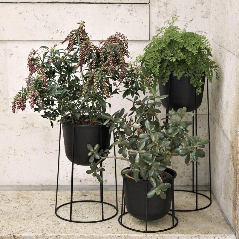Black-pedestal-style-plant-stand-61787