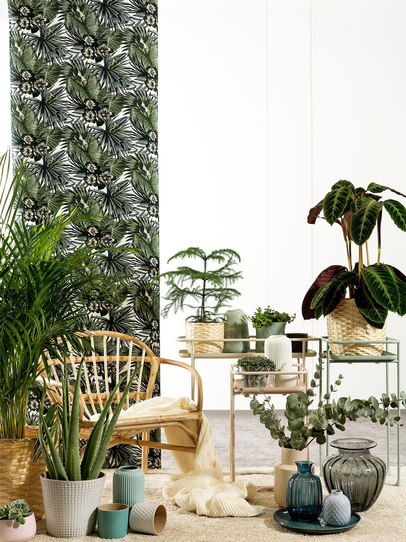Create an indoor haven with outdoor style