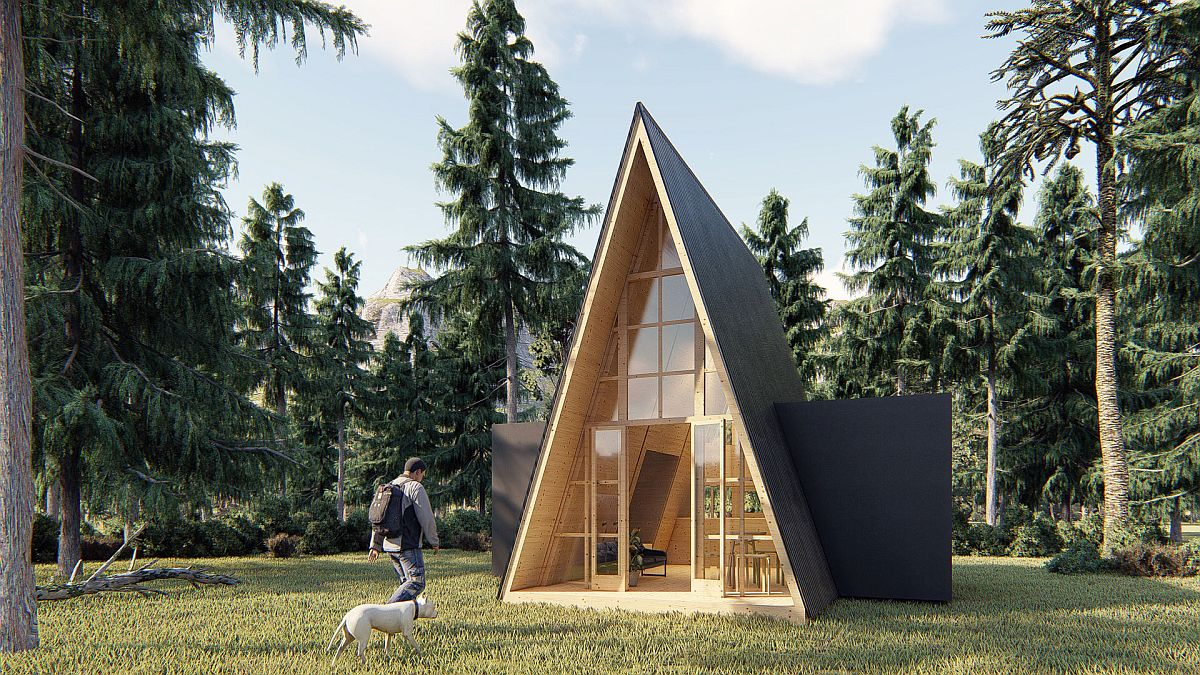 Design plan of the Grand Cabin by Hello Wood